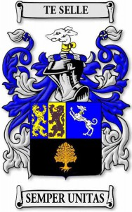 Te Selle Coat of Arms