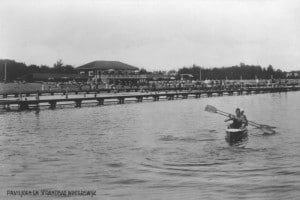 The new open air swimming pool of Winterswijk was constructed in 1933 as an unemployment relief project.