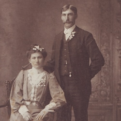 Albert Herman TeSelle and Alyda (Lizzie) Obbink