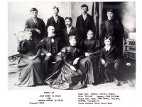 Family of John Henry (Jan Hendrik) te Selle and Hannah Onnink te Selle (about 1890)
