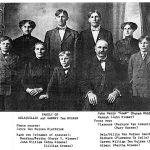 Family of Dela (Dillie) TeSelle and Garret Ten Hulzen (photo about 1910)