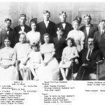 Jane (Janna) TeSelle and David De Boer had 13 children during their 50+ years of marriage from 1885 until David's death in 1939.