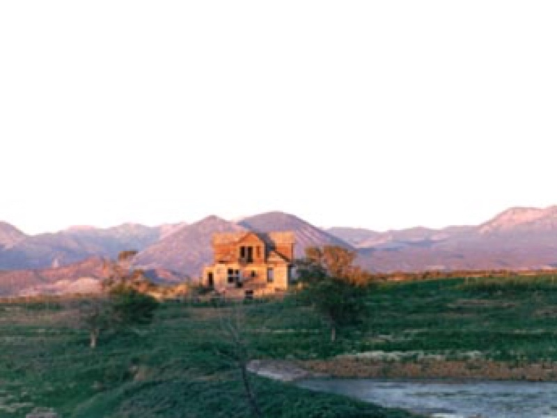 John Willem TeSelle House and Round Barn, Fruitland Mesa, CO