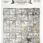 A 1921 plat map of Nebraska South Pass Township 7 North shows several parcels of land owned by te Selle family members.