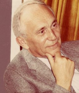 te Selle, Gerrit Jan (1917-1983), portrait, about 1976