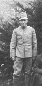 te Selle, Gerrit Jan (1917-1983), Sergeant, August 1937
