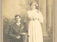 Herman John TeSelle and Jennie Vandewege wedding, 30-Apr-1913